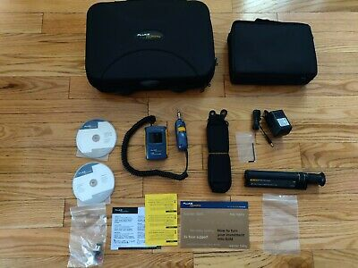 Fluke Networks FT500 Fiber Scope Video Microscope Fiber Inspector FT-120 KIT NEW