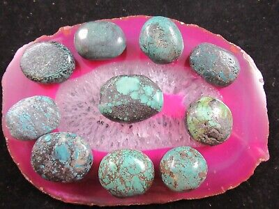Vintage Big And Chunky Turquoise Beads Beautiful Old Turquoise Beads