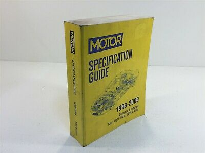 1998-2009 MOTOR Specification Guide 19th Edition