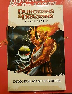 DUNGEONS & DRAGONS essentials  DUNGEON MASTER'S book-- BOOK ONLY--