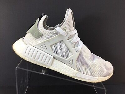the latest e0a65 1233f ADIDAS NMD XR1 Mens Camo White Casual Shoes BA7233 Mens Size 9
