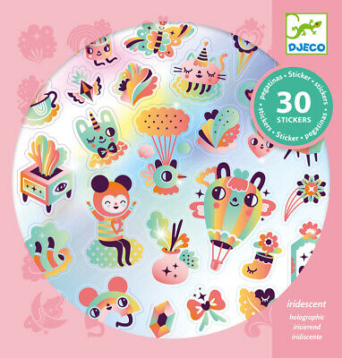 Stamps Stamper Set Kids Craft NEW DJECO Funny Faces Stamp and Draw Art Set