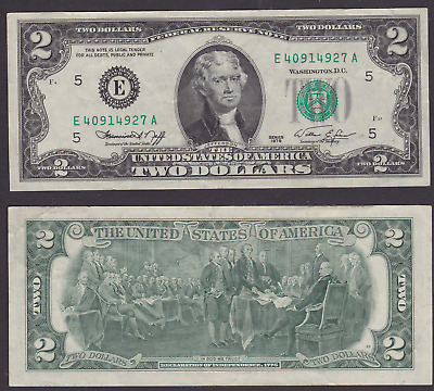 USA: 1976 $1 Dollar HIGH GRADE Federal Reserve Note, EF (HF40)