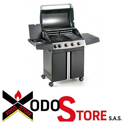 Gas Expert 5 Eco plus Barbecue Ompagrill Stove Lateral Call x Discount BBQ