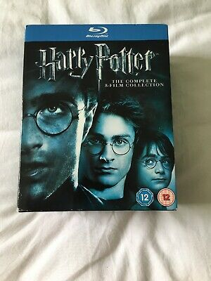 Harry Potter - Complete 8-Film Collection [Blu-ray] [2011] [Regio... - DVD