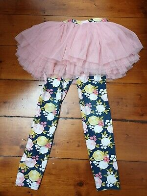 Rock Your Baby Kid Circus Tights Size 8
