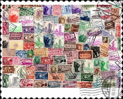Belgium Parcel Post : 100 Different Stamps Collection