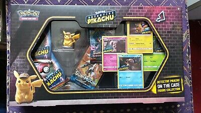 New Sealed Pokemon Detective Pikachu On The Case Figure Collection