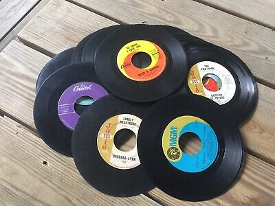 25-45 RPM records From The 50's & 60's Lot #1
