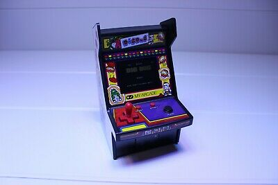 "DIG DUG Micro Player 6"" Collectable Arcade Game My Arcade, Retro Arcade"