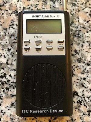 P-SB7 Spirit Box EVP FM/AM Frequency Sweep Radio Ghost Hunting Paranormal Device