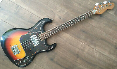 Aria A-100 bassguitar early seventies by Matsumoku