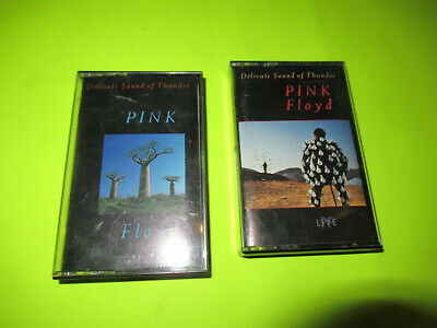 Pink Floyd Live Delicate Sound Of Thunder 2 X Cassette Tape / Rock
