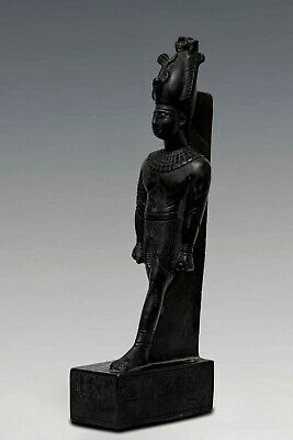 Rare EGYPT EGYPTIAN STATUE Antiques OSIRIS GOD of the Dead Stone 525 BC
