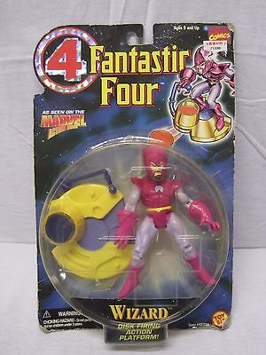 WIZARD CARDED ACTION FIGURE MADE BY  TOY BIZ IN 1996 FANTASTIC FOUR
