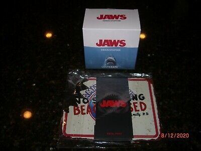 Loot Crate 44th Anniversary Exclusive Jaws Drain Stopper Plug NEW! IN BOX