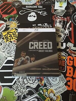 Creed - Rocky´s Legacy [Blu-Ray] limited Steelbook Stallone Deutsch(er) Ton