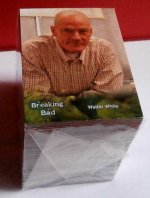 BREAKING BAD - Seasons 1 to 5 - COMPLETE BASE SET of 134 CARDS - Cryptozoic 2014