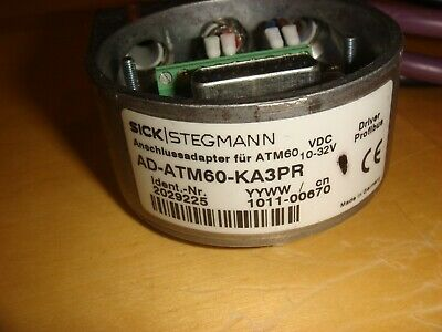 SICK OPTIC AD-ATM60-KA3PR Encoder Profibus Adapter with cable