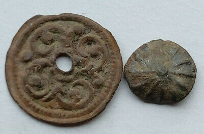 Lot Of 2 Byzantine Appliques