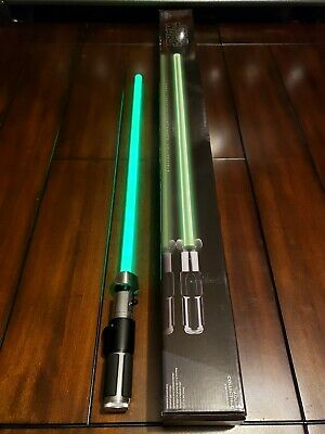 Star Wars Hasbro Signature Series YODA Force FX Lightsaber Used 100% Complete!