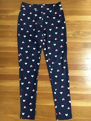 Rockets Of Awesome Girls Active Leggings  Sz 8 Digital Heart Design