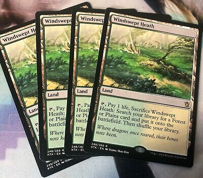 Windswept Heath Khans of Tarkir MTG Magic The Gathering ~~~~~~~~ NEAR MINT