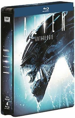 Coffret Blu Ray : Alien Anthologie Quadrilogy - Steelbook - NEUF
