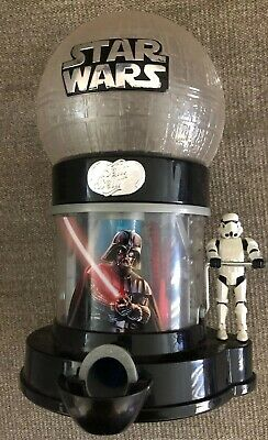 🔴 Star Wars Storm Trooper Jelly Belly Bean Candy Gumball Dispenser Machine  F7