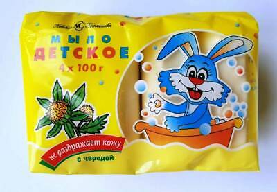 Baby Toilet soap with a succession, 100 g x 4 pcs
