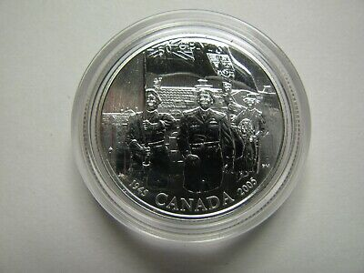 2005 Specimen 50 cents Battles WWII #2-Liberation Netherlands COIN ONLY Canada f