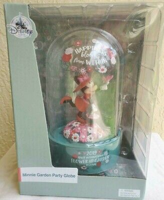 Disney Epcot Flower & Garden 2019 Minnie Happiness Blooms Garden Party Globe NIB
