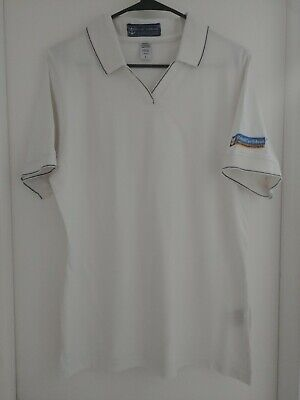 Royal Caribbean Casino Royale Embroidered  Polo Shirt Size L Large Ladies Women