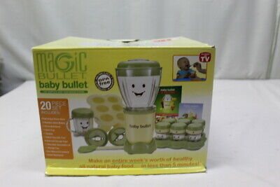 Magic Bullet Baby Bullet 20 Piece Set Baby Food Making System