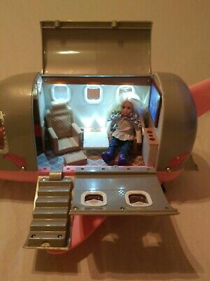 "Lori 6"" Doll  Our Generation Luxury Jet Airplane Girls Play Pretend Dolls Set"