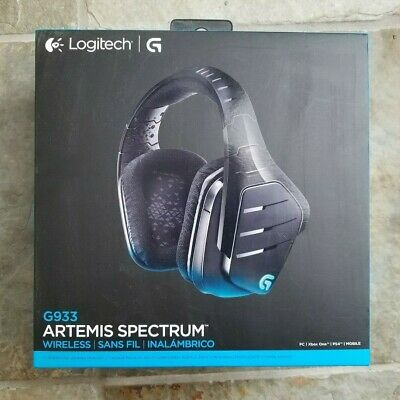 LOGITECH G933 ARTEMIS Spectrum Wireless RGB 7 1 Surround