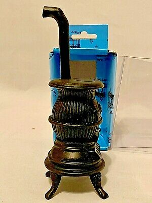 Dollhouse Miniature 1:12 Scale Black POT Belly Stove T6658 by Town Square
