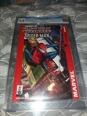 Ultimate Spiderman Issue 1 Fcbd Cgc Graded 9.8 Marvel