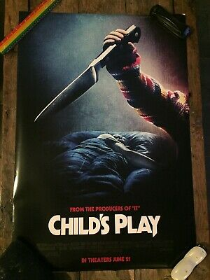 CHILD'S PLAY (Final - 2019) Original NM DS One-Sheet 27x40 (COOL RETRO REBOOT)