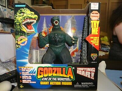 Vintage 1994 Godzilla King Of The Monsters Trendmasters New In Box