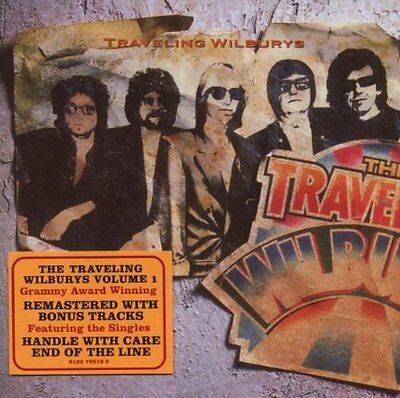 Traveling Wilburys Volume 1 2 Extra Tracks Remastered CD NEW
