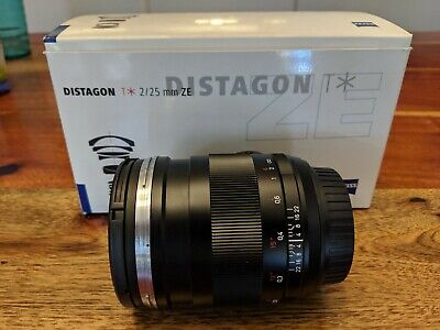 Carl Zeiss Distagon 2/25 ZE T* 25mm f/2.0 Lens For Canon