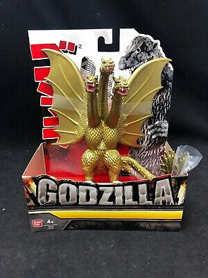 "NEW 2018 Bandai Godzilla ""King Of The Monsters"" King Ghidora Gold Figure"