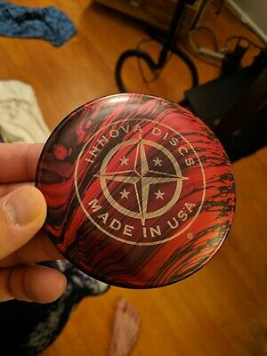 Metal Innova Star Mini First Run Disc Golf Limited Rare Oop Marker Accessory