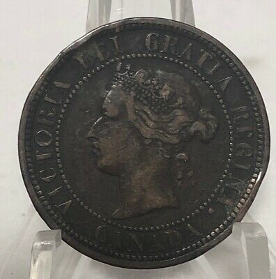 Rare-1882 Canadian One Cent Coin- Exquisite!! $$$$