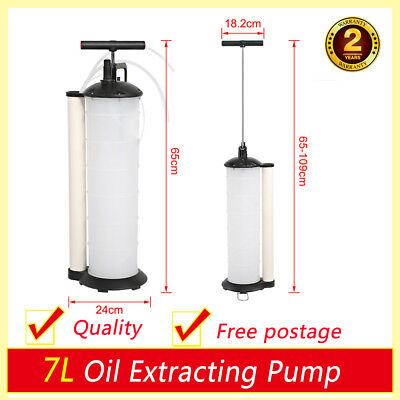 7L Engine Oil Brake Fluid Extractor Removal Transfer Vacuum Suction Hand Pump