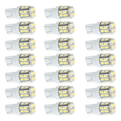 20 X 6000K White Wedge T10 20 SMD LED Light bulbs W5W 158 192 168 194