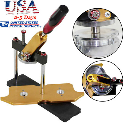 1pc 58mm Button Badge Maker Punch Press Circle Cutter Metal Punch Machine USA