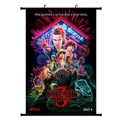 Stranger Things - Season 3 Wall Scroll Poster Hanging Painting Home Decor