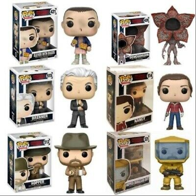 Stranger Things Eleven Funko Pop With Eggos Demogorgon Vinyl Action Figure Toy